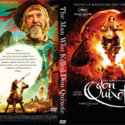 The Man Who Killed Don Quixote (2018) R0 Custom DVD Cover