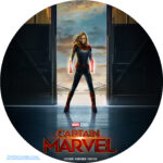 Captain Marvel (2019) Custom Clean Label