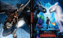 How to Train Your Dragon: The Hidden World (2019) R0 Custom DVD Cover