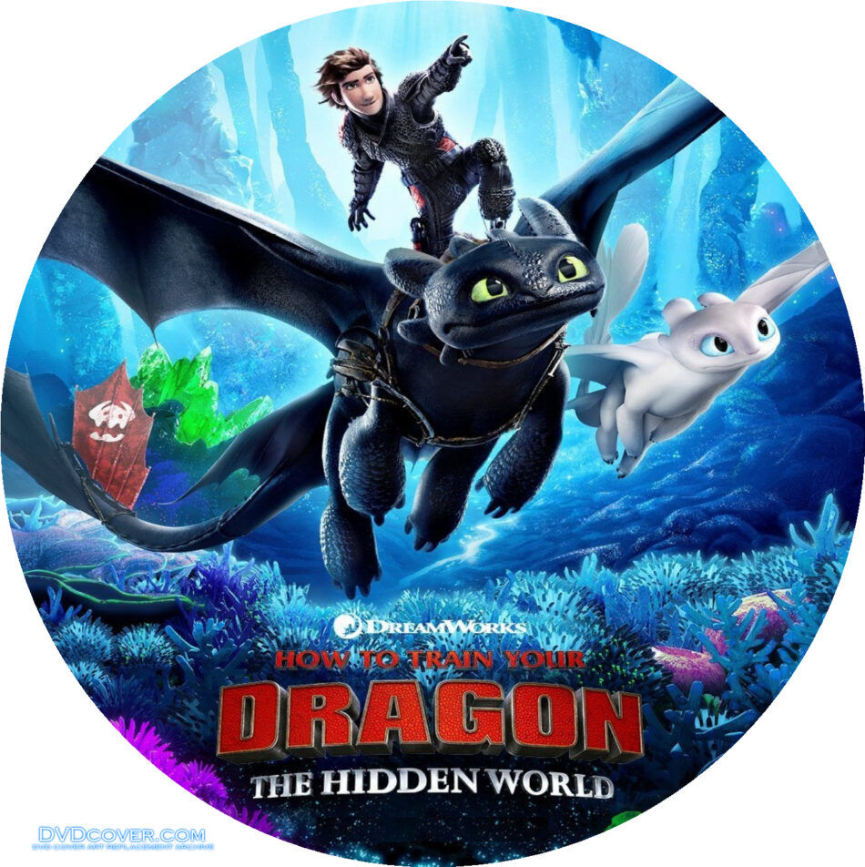 How To Train Your Dragon The Hidden World 2019 R0 Custom Clean Label Dvdcover Com