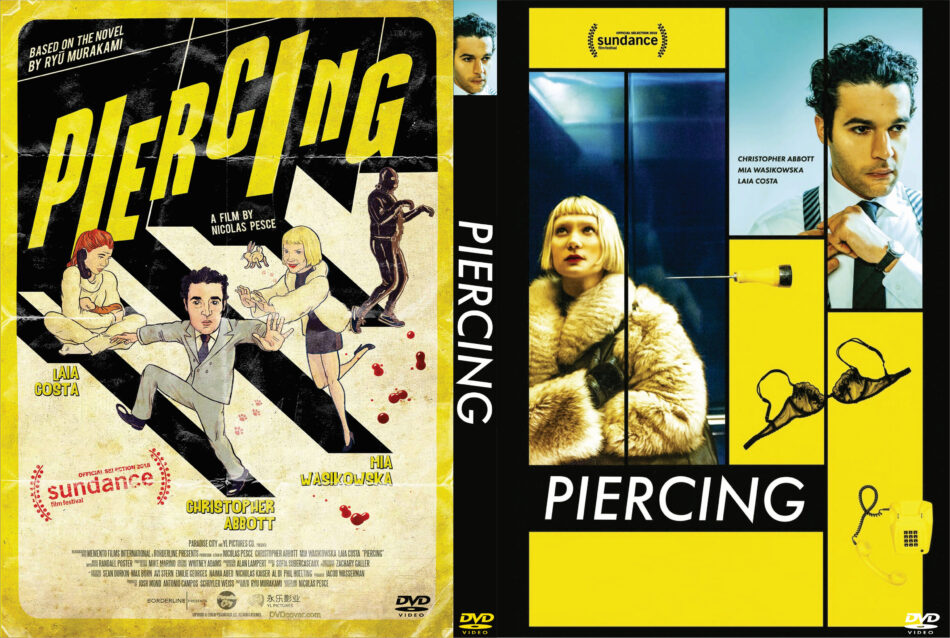 b83b87114 Piercing (2019) R0 Custom DVD Cover. Posted by Andrew