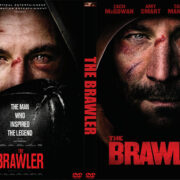 The Brawler (2018) R0 Custom DVD Cover