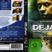 Deja Vu – Wettlauf gegen die Zeit (2007) R2 German Blu-Ray Covers & Label