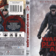 War For The Planet Of The Apes (2017) R1 Blu-Ray Cover & Labels