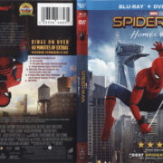 Spider-Man Homecoming (2017) R1 Blu-Ray Cover & labels