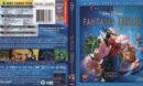 Fantasia & Fantasia 2000 (2010) R1 Blu-Ray Cover & labels