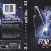 Star Trek Discovery (2018) R1 Blu-Ray Cover & Labels