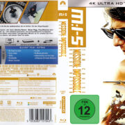 Mission Impossible 5 – Rogue Nation (2018) R2 Custom 4K Covers & label