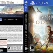 Assassin's Creed Odyssey Kassandra (2018) PS4 Cover PAL