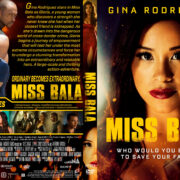 Miss Bala (2019) R1 Custom DVD Cover