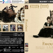 The Favourite (2018) R1 CUSTOM Blu-Ray Cover