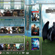 How to Train Your Dragon Collection R1 Custom DVD Cover