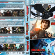 How to Train Your Dragon Triple Feature R1 Custom DVD Cover