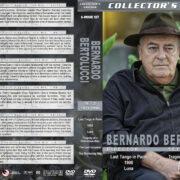 Bernardo Bertolucci Director's Collection - Set 2 (1972-1990) R1 Custom DVD Covers