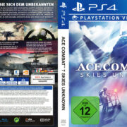 Ace Combat 7 Skies Unknown PS4 German Cover