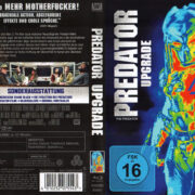 The Predator - Predator Upgrade (2018) R2 German Blu-Ray Cover