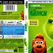 The Grinch (2018) R1 4K UHD Cover