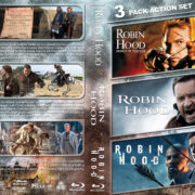 Robin Hood Triple feature R1 Custom Blu-Ray Cover