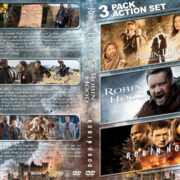Robin Hood Triple Feature R1 Custom DVD Cover