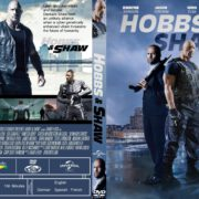 Hobbs & Shaw (2019) R1 Custom DVD Cover