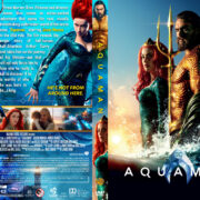 Aquaman (2018) R1 Custom DVD Cover