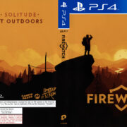 Firewatch NTSC PS4 Cover