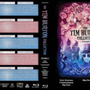The Tim Burton Collection (5) – Volume 4 R1 Custom Blu-Ray Cover