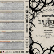 The Tim Burton Collection (5) - Volume 4 R1 Custom DVD Cover