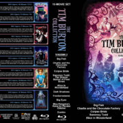 The Tim Burton Collection (10) – Volume 2 R1 Custom Blu-Ray Cover