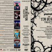 The Tim Burton Collection (10) – Volume 2 R1 Custom DVD Cover
