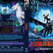 How to Train Your Dragon: The Hidden World (2019) R1 Custom DVD Cover