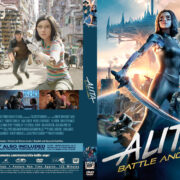 Alita: Battle Angel (2019) R1 Custom DVD Cover & Label