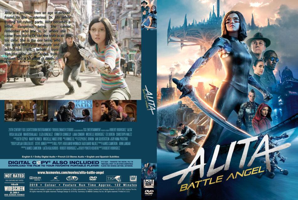 Alita Battle Angel 2019 R1 Custom Dvd Cover Label Dvdcover Com