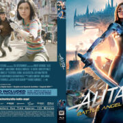 Alita: Battle Angel (2019) R1 Custom Blu-Ray Cover & Label