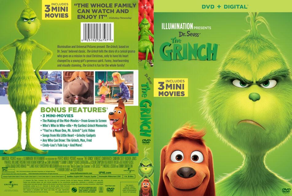 The Grinch 2018 R1 Custom Dvd Cover V2 Dvdcover Com