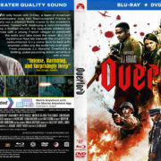 Overlord (2018) R1 CUSTOM Blu-Ray Cover & Label