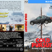 Cold Pursuit (2019) R1 CUSTOM Blu-Ray Cover & Label