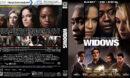 Widows (2018) R1 CUSTOM Blu-Ray Cover & Label