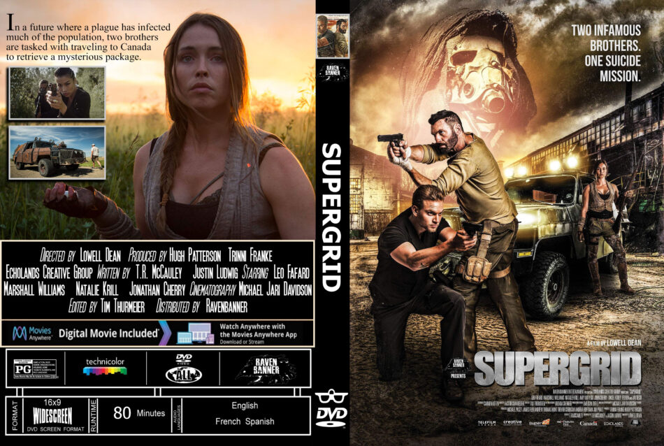 Supergrid 2018 R0 Custom Dvd Cover Dvdcover Com