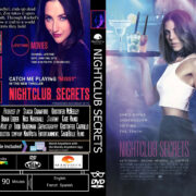 Nightclub Secrets (2018) R0 Custom DVD Cover