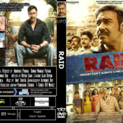 Raid (2018) R0 Custom DVD Cover