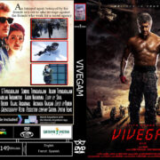 Vivegam (2017) R0 Custom DVD Cover