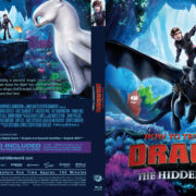 How to Train Your Dragon: The Hidden World (2019) R1 Custom Blu-Ray Cover & Label