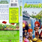 Arthur and the Invisibles (2006) R1 DVD Cover