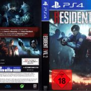 Resident Evil 2 (2019) German PS4 Cover & Label