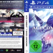 Ace Combat 7 Skies Unknown (2019) German PS4 Cover & Label