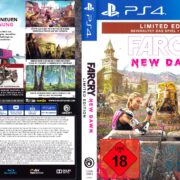 Far Cry New Dawn (2019) German PS4 Cover & Label