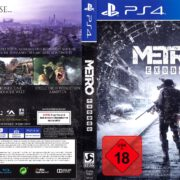 Metro Exodus (2019) German PS4 Cover & Label