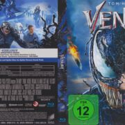 Venom (2019) R2 German Blu-Ray Cover