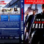 Mission: Impossible – Fallout (2018) R2 German 4K UHD Covers